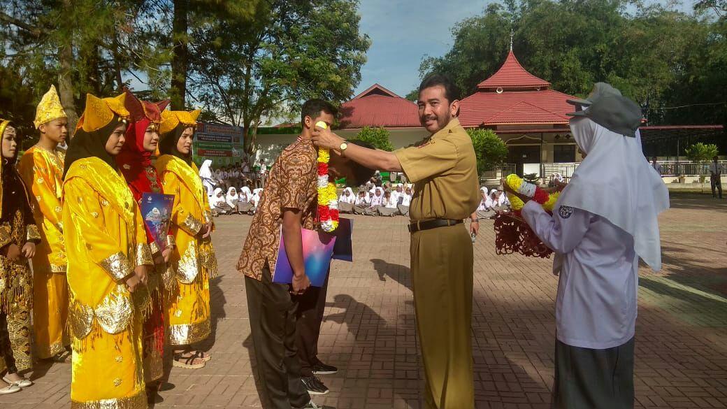 Farhan Sidiq dan M. Rafi meraih Medali Perak pada FL2SN cabang lomba Filem Pendek  Tingkat Nasional di Propinsi Aceh