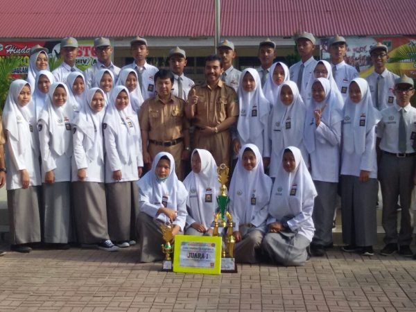 Pasusbra SMAN 1 Ampek Angkek Raih Juara Pertama Pada lomba PBB di SMAN 2 Bukittinggi