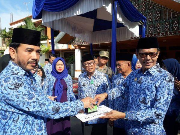 SMAN 1 Ampek Angkek Raih Juara Pertama Pada Lomba Sekolah Sehat Tingkat SMA/ SMK Propinsi Sumatera Barat Tahun 2018