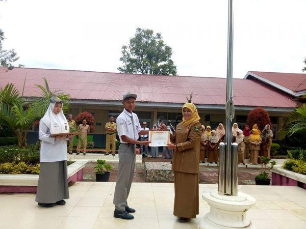 Pramuka SMAN 1 Ampek Angkek Raih Juara II pada lomba PBB tingkat Sumatera Barat di SMAN 1 Tilatang Kamang