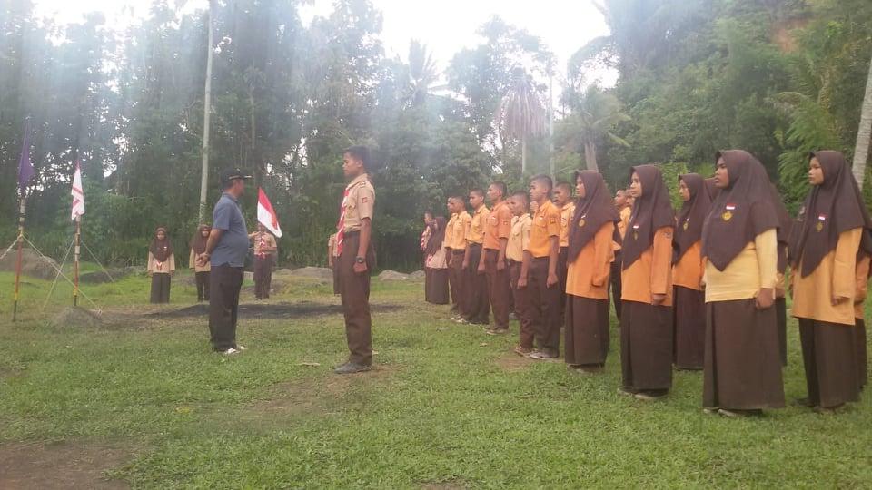 Gudep SMAN 1 Ampek Angkek Mengadakan Pelantikan Kacu TP. 2018/2019