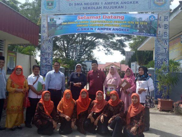 Perpustakaan SMAN 1 Ampek Angkek Mengikuti Lomba Perpustakaan Sekolah SLTA Tingkat Propinsi Sumatera Barat Tahun 2019