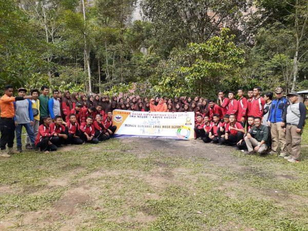 OSIS SMAN 1 Ampek Angkek TP 2019/2020  Menggelar Latihan Dasar Kepemimpinan (LDK)