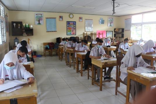 Kelas XII TP. 2020/2021 Melaksanakan UAS (Ujian Akhir Sekolah) pada tanggal 08 s/d 16 Maret 2021