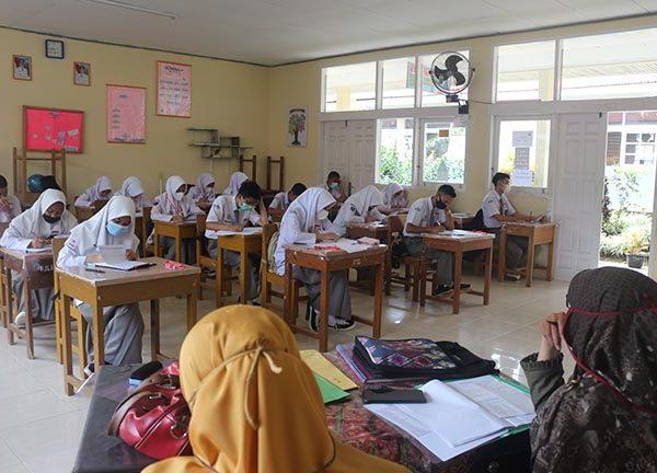 SMAN 1 Ampek Angkek Gelar Ujian Satuan Pendidikan