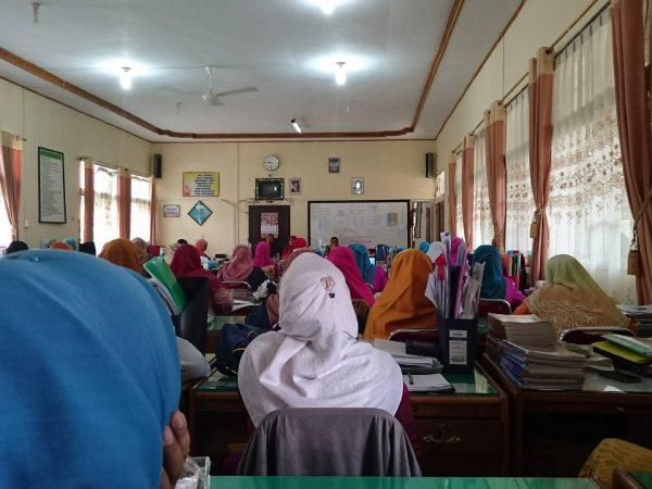 SMAN 1 Ampek Angkek Sambut Bulan Suci Ramadhan dengan mengadakan Tauwsiyah